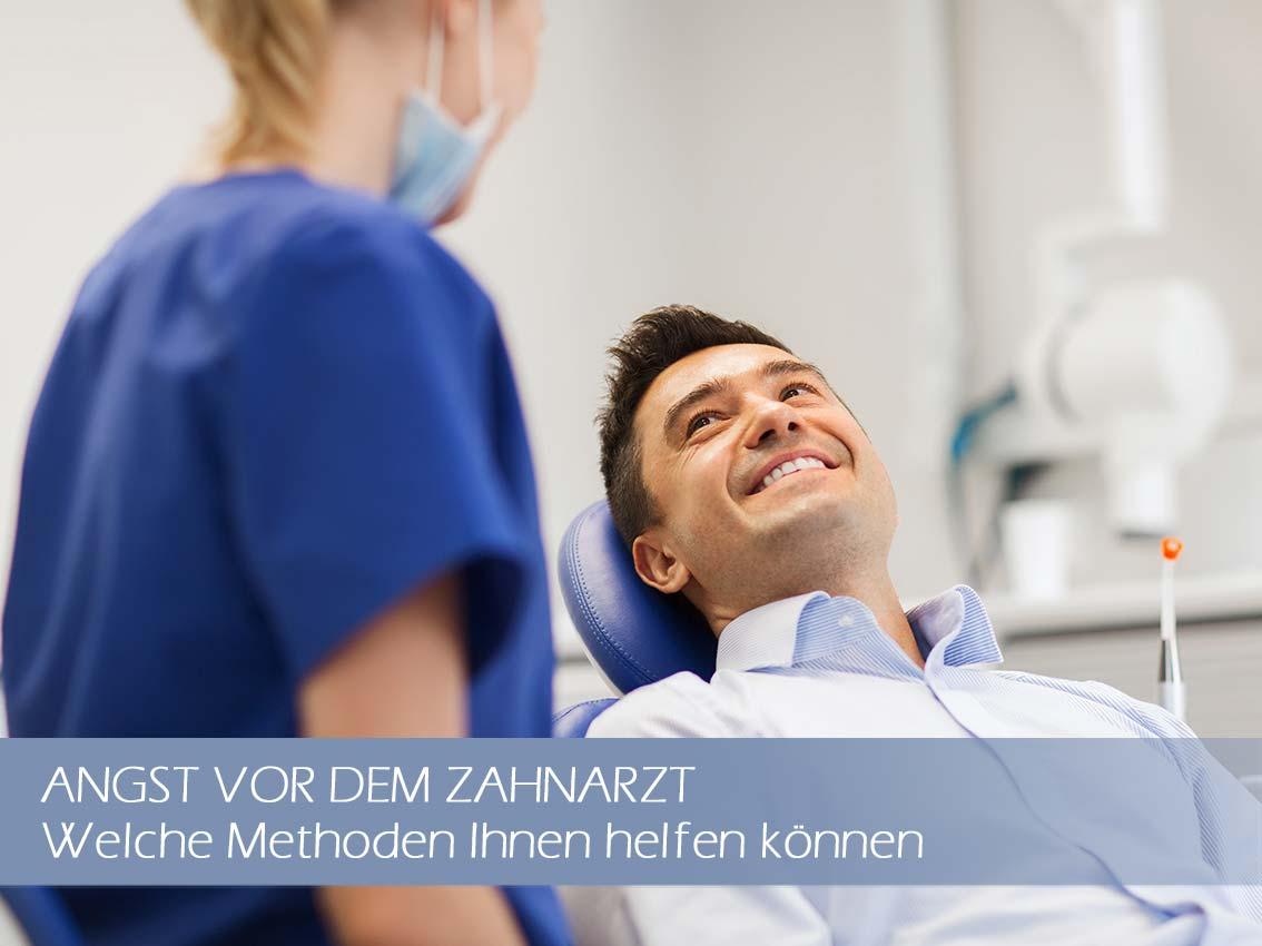 Patient ohne Angst vor dem Zahnarztbesuch
