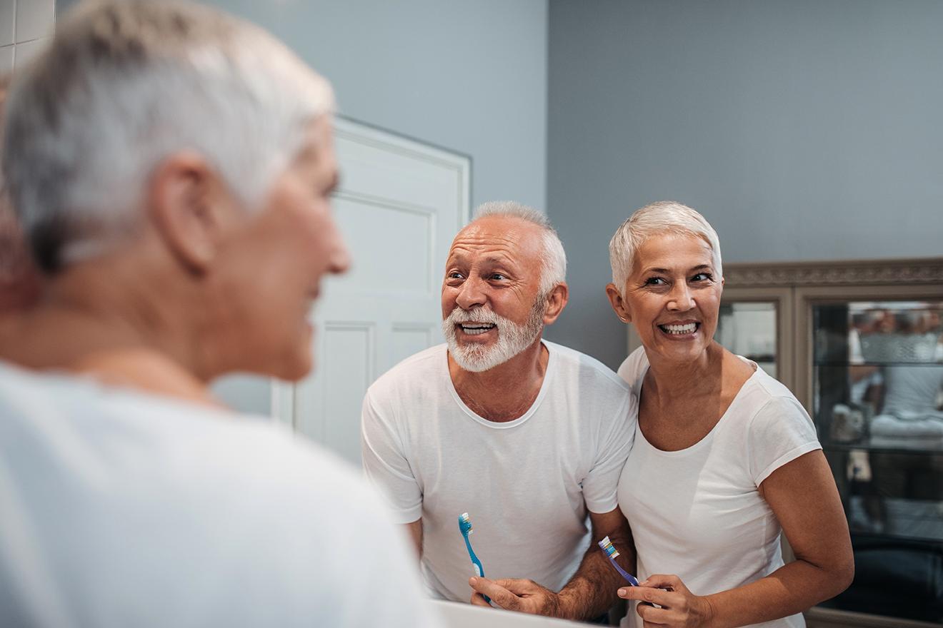 Zahnpflege bei Senioren