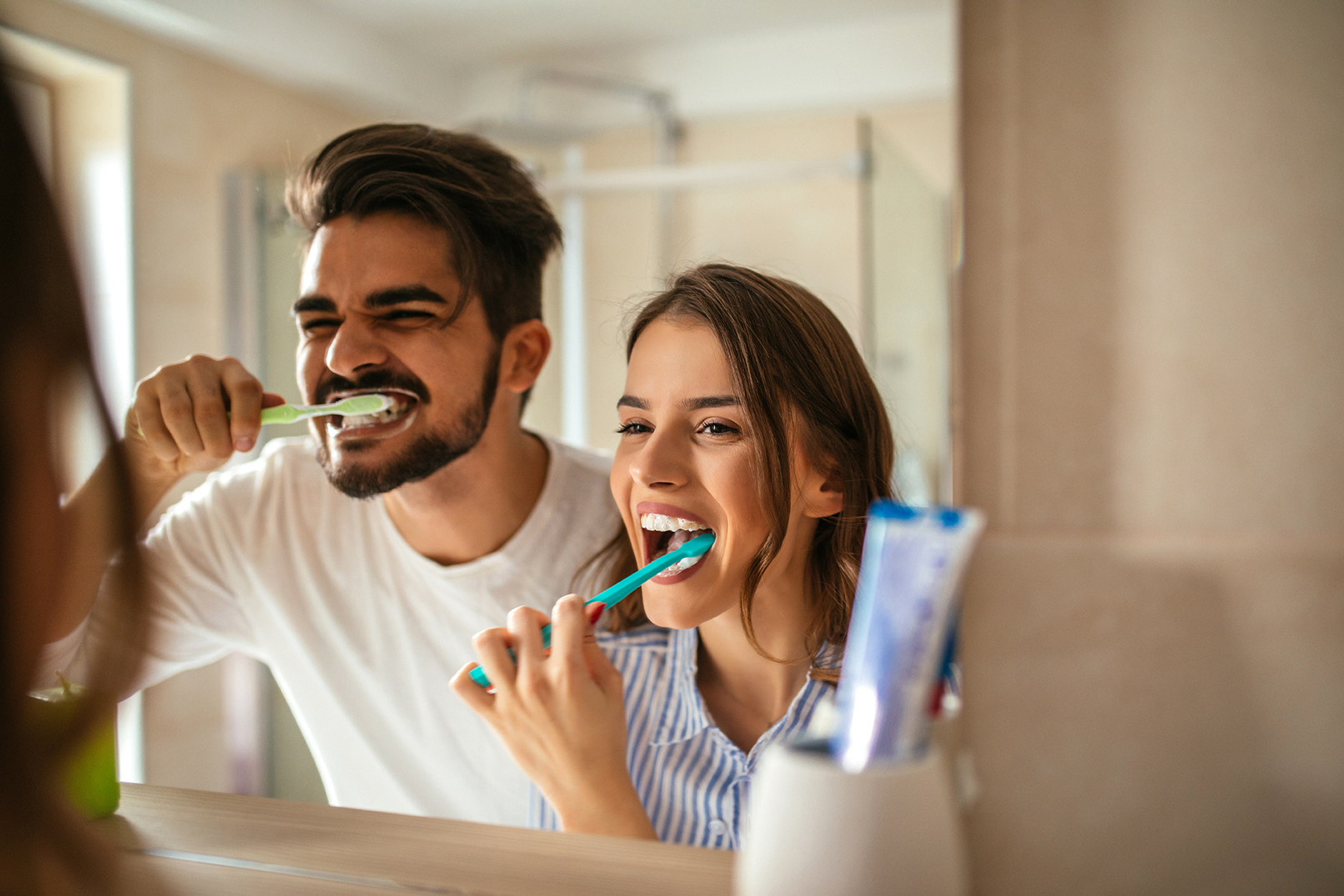 Die richtige Pflege von Zahnbürsten